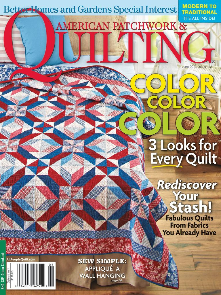 april issue buy and us en ua quilting ebay patchwork magazine quilt american anniversary
