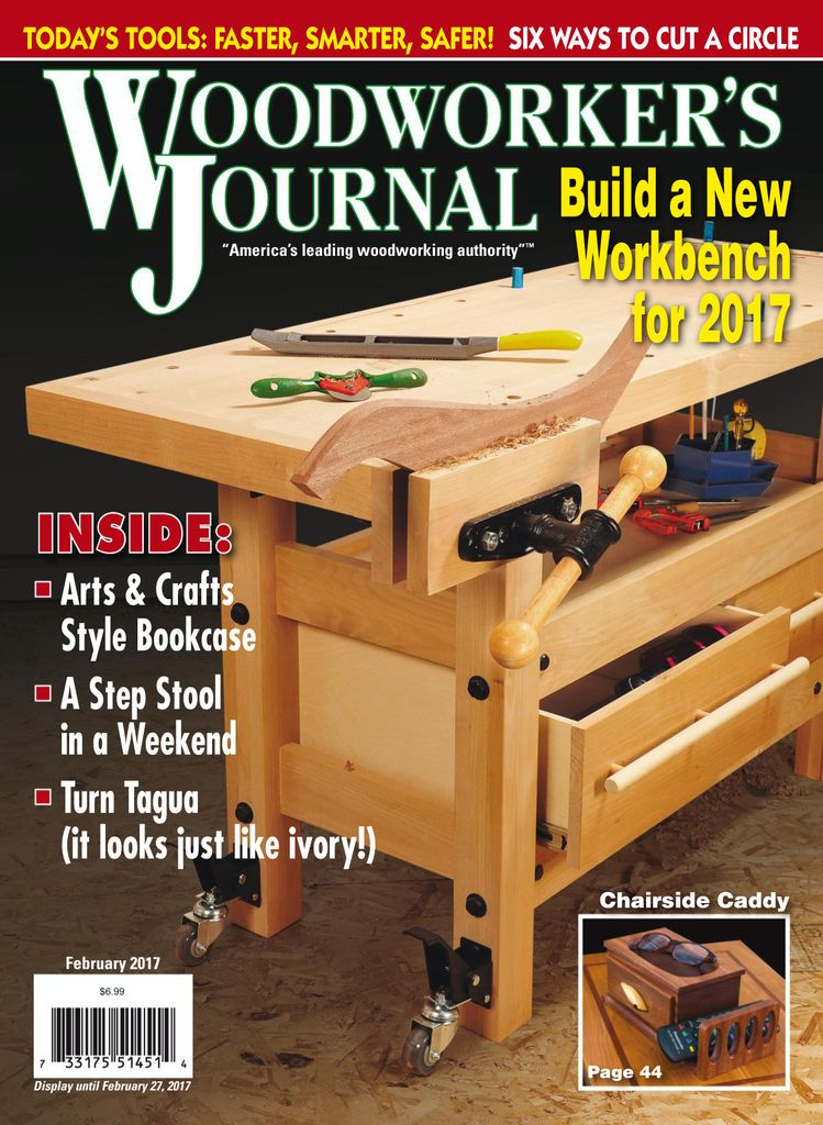 Buy February 2017 Woodworker S Journal