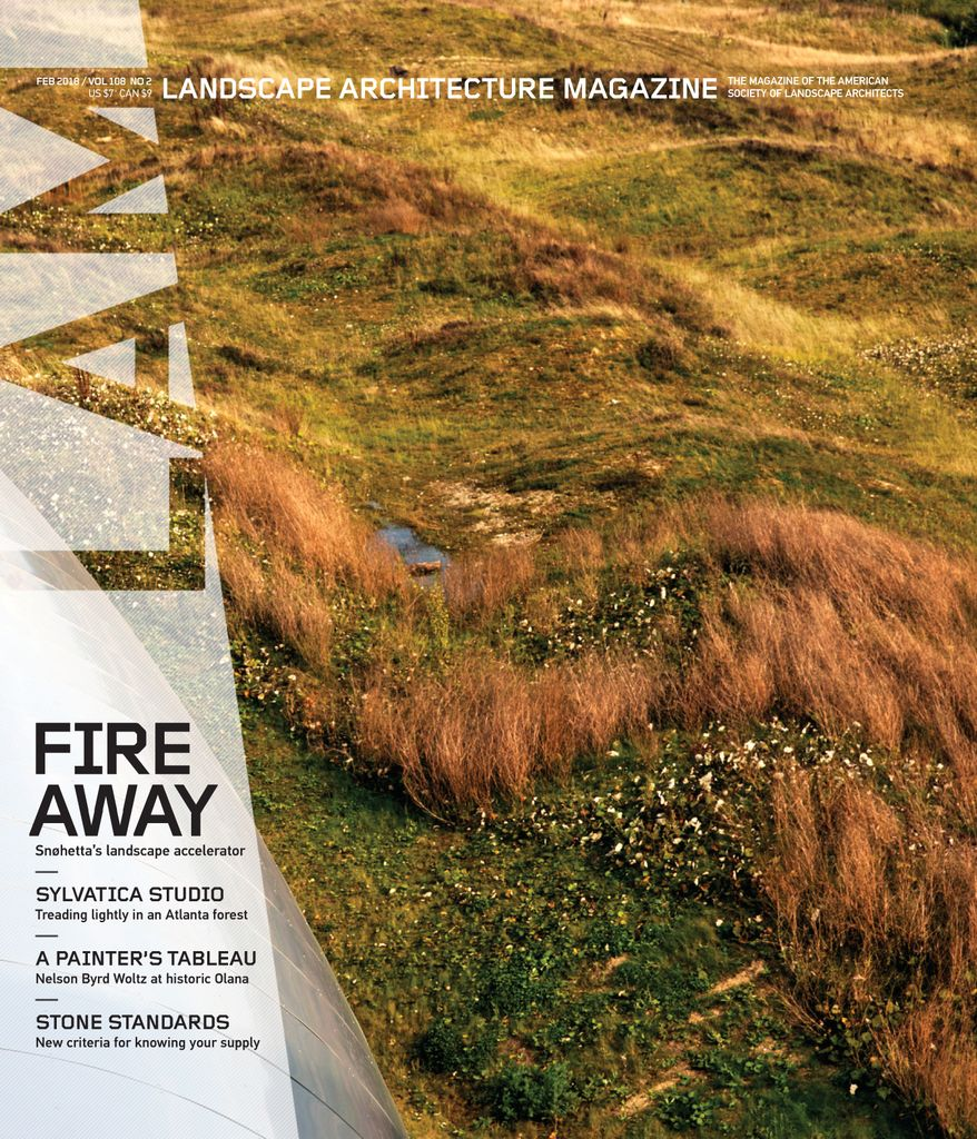 landscape architecture magazine subscription
