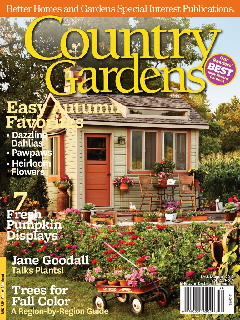 Back issues of Country Gardens