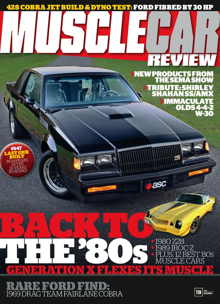 Back issues of Muscle Car Review