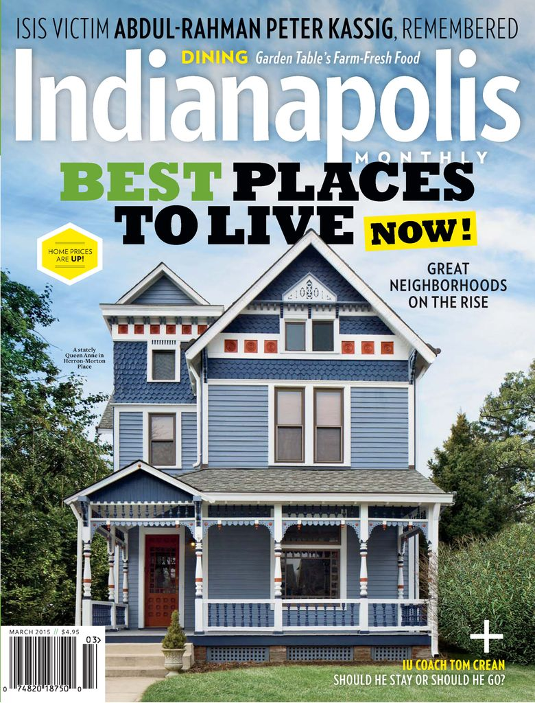 Back issues of Indianapolis Monthly