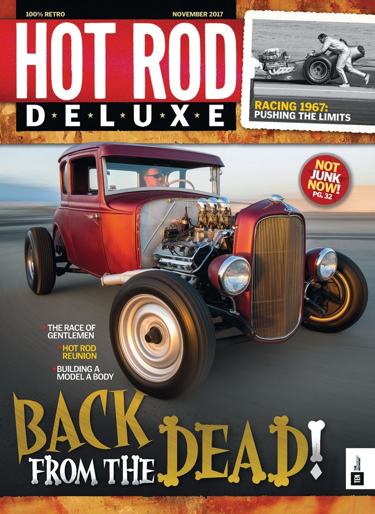November 2017 back issue of Hot Rod Deluxe - Zinio.com