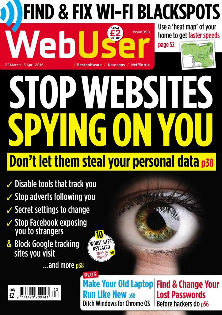 Back issues of Webuser