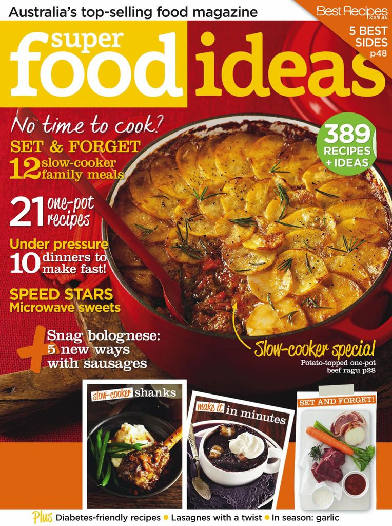 Back issues of super food ideas forumfinder Images