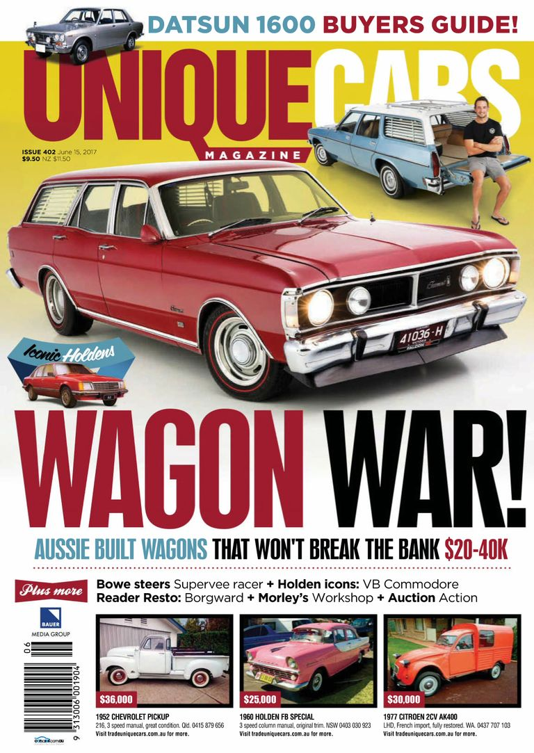 Buy Issue 402 - Unique Cars Australia