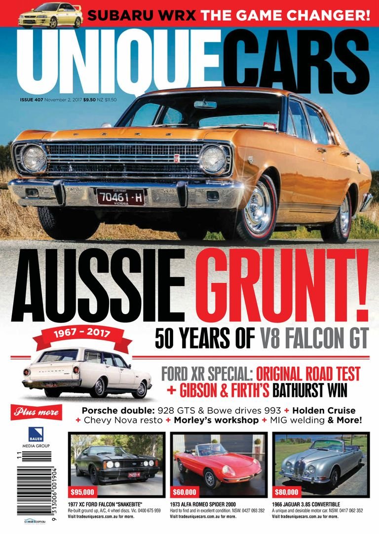 Back Issues Of Unique Cars Australia