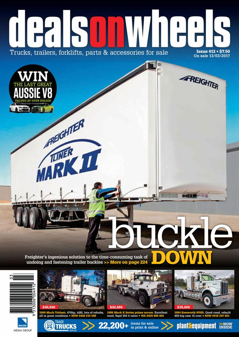 Back Issues Of Deals On Wheels Australia