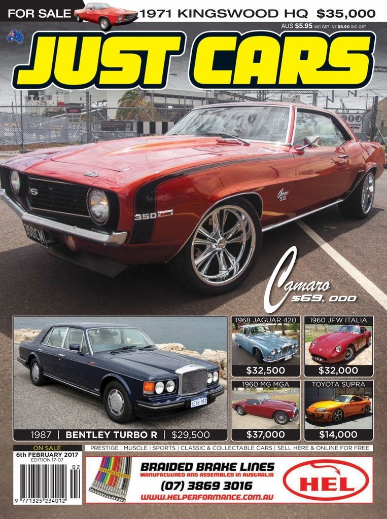 Back Issues Of Just Cars