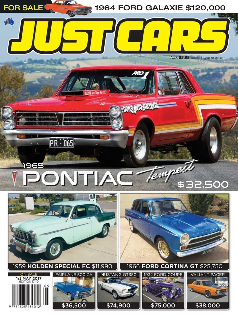 255 17-10 back issue of Just Cars - Zinio.com