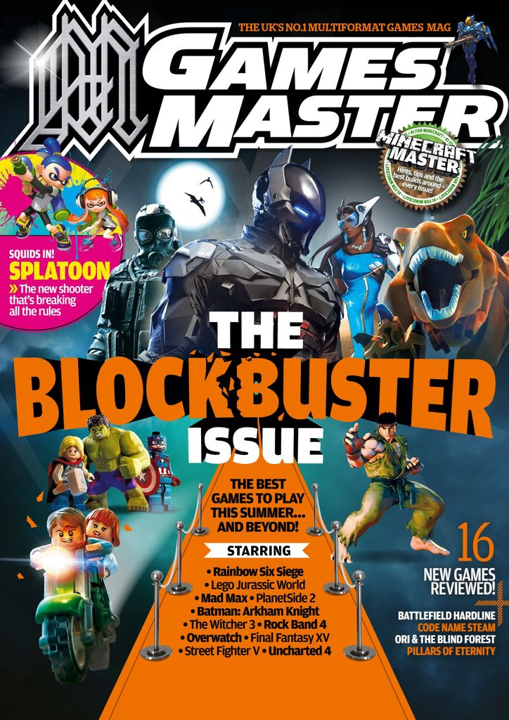 Back issues of Gamesmaster