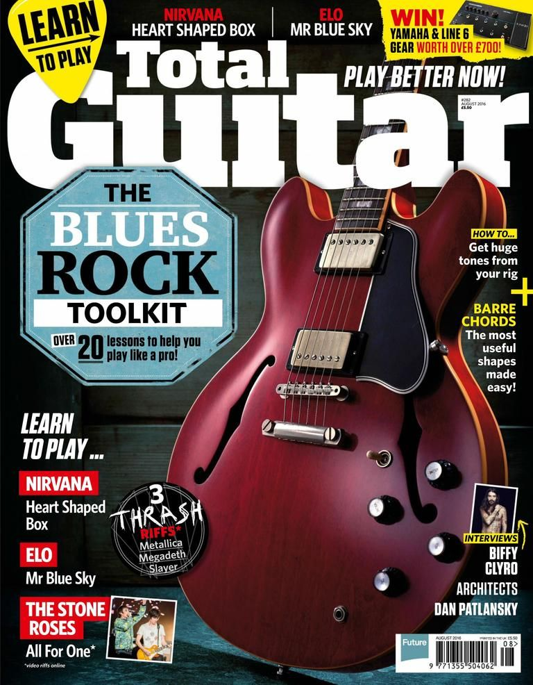 Back Issues Of Total Guitar