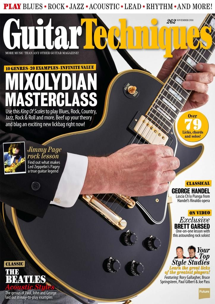 Back Issues Of Guitar Techniques