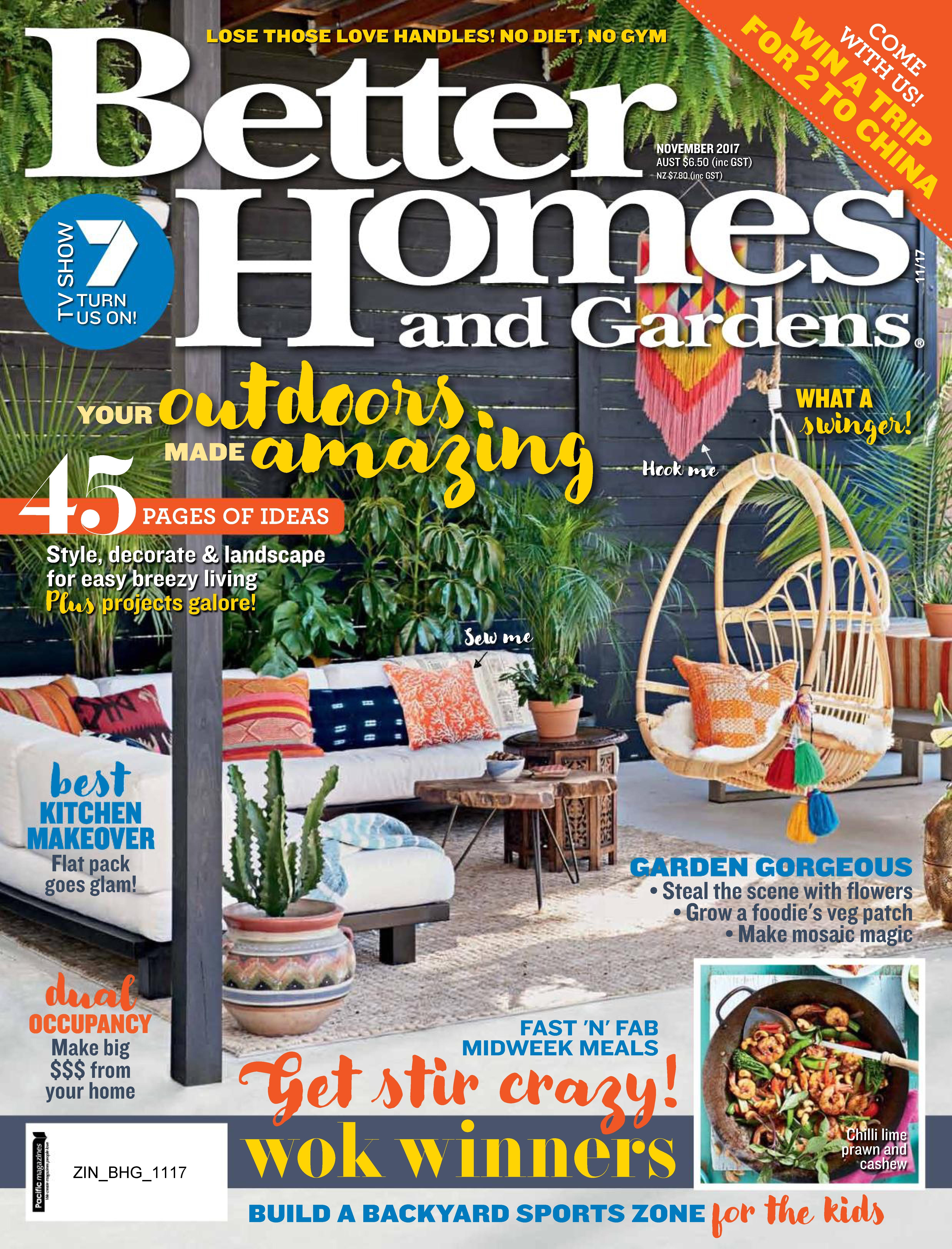 Better homes and gardens makeover competition