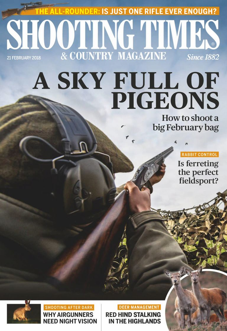 Buy 21-Feb-2018 - Shooting Times & Country