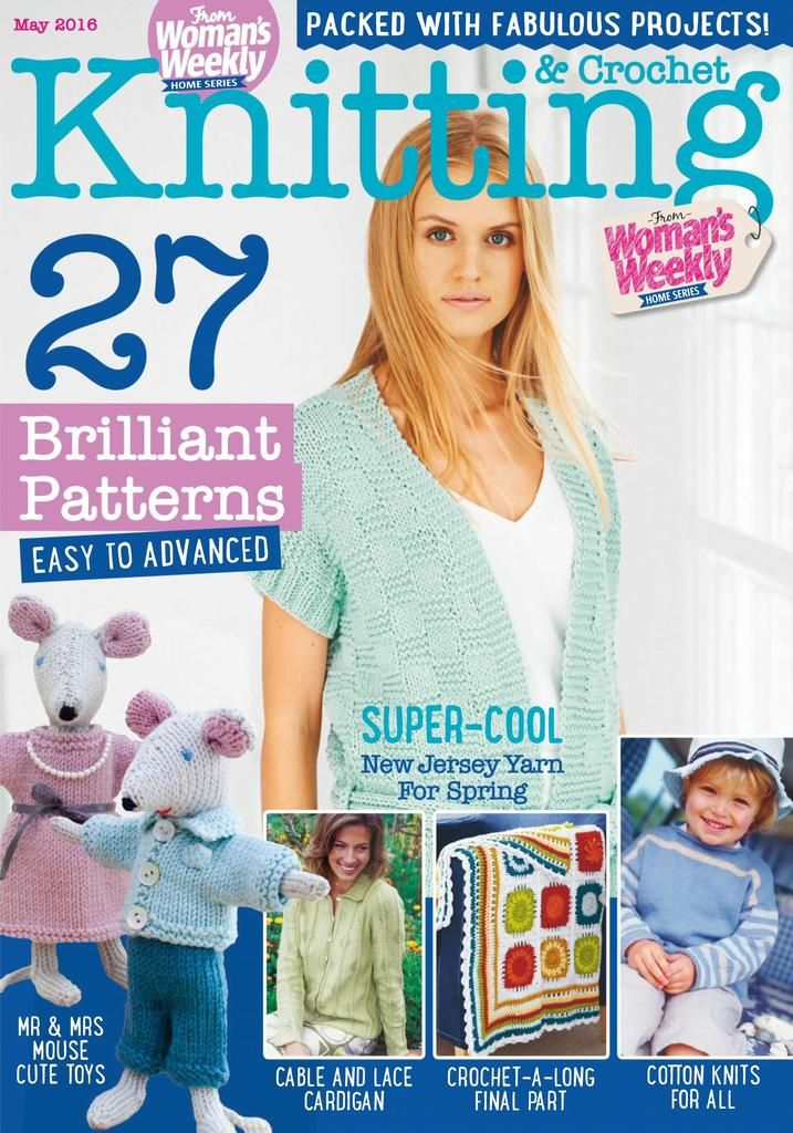 Back Issues Of Knitting Crochet From Womans Weekly