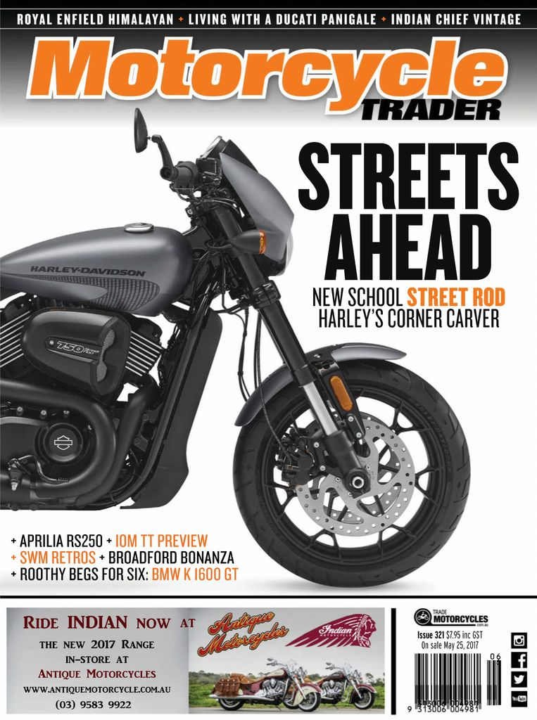 Back issues of Motorcycle Trader