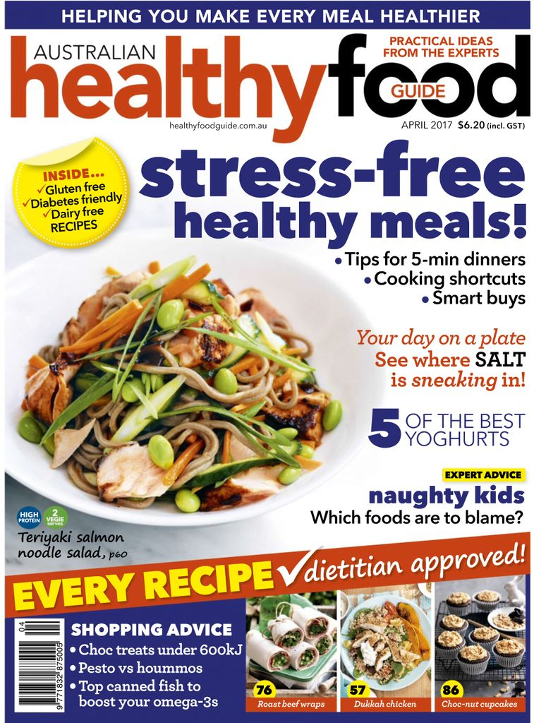 Back Issues Of Healthy Food Guide