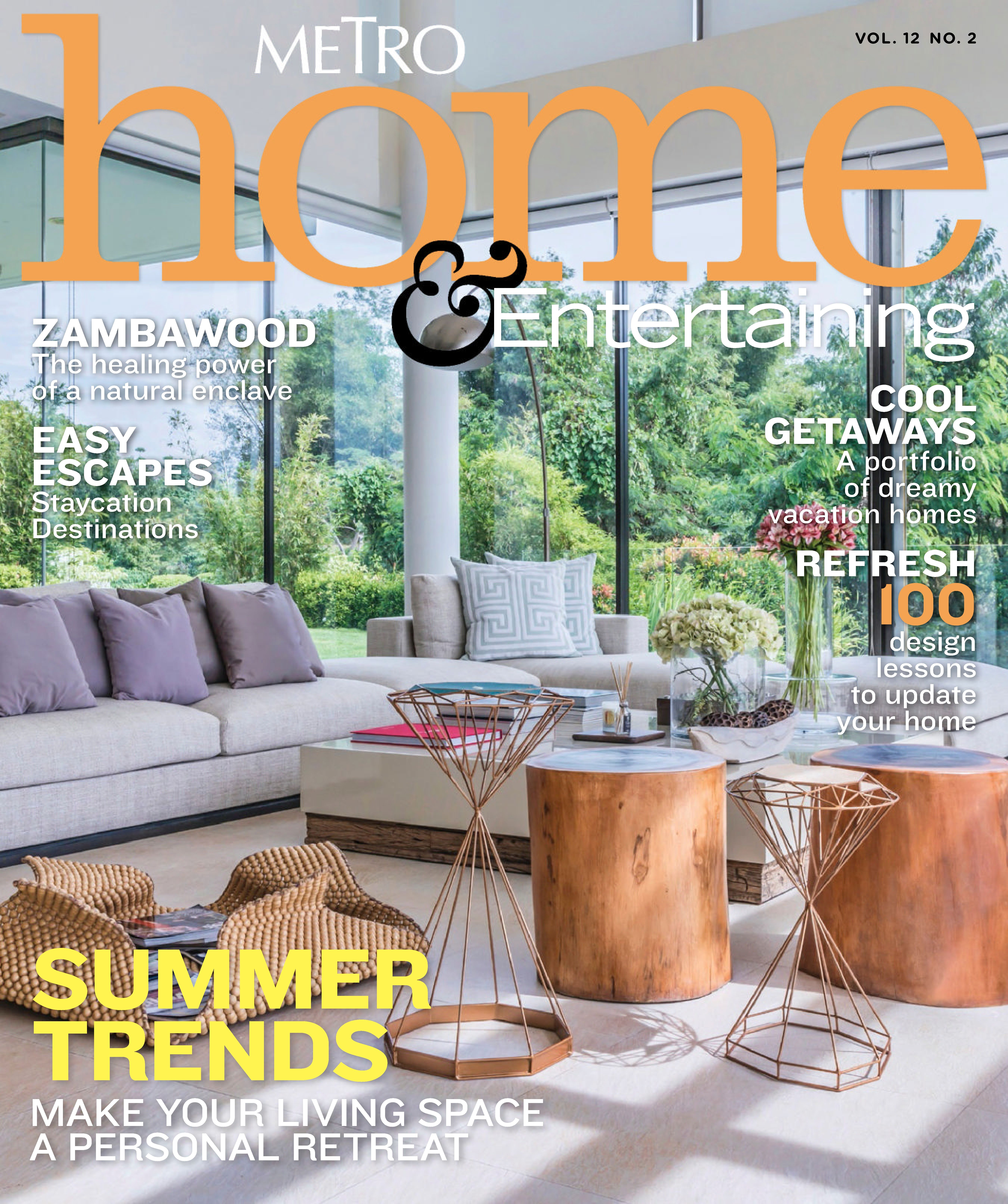 Back Issues Of Metro Home U0026 Entertaining