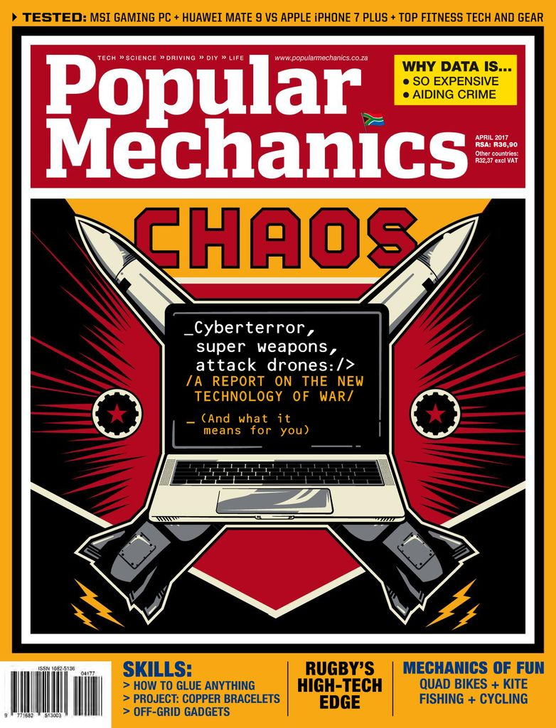 Buy April 2017 - Popular Mechanics South Africa