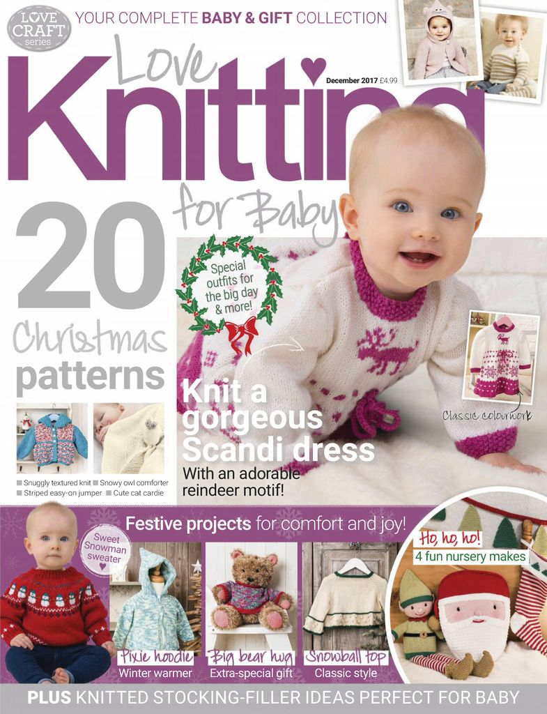 c3a6bf175e2 Buy April 2018 - Love Knitting for Baby