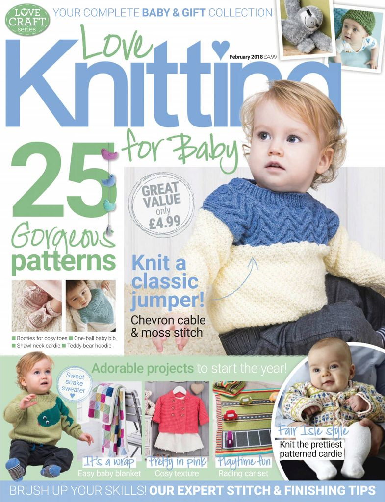 e1abe72103a Buy March 2017 - Love Knitting for Baby