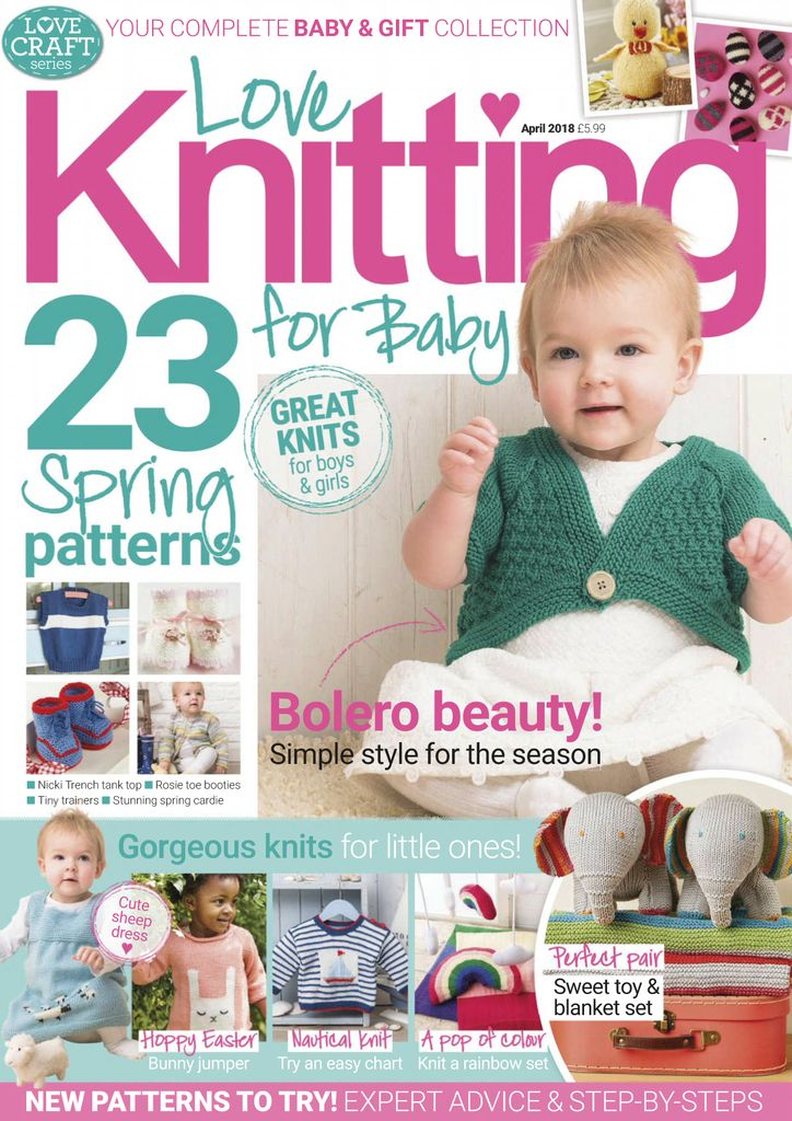 cd452a7c6ca7 Buy April 2018 - Love Knitting for Baby