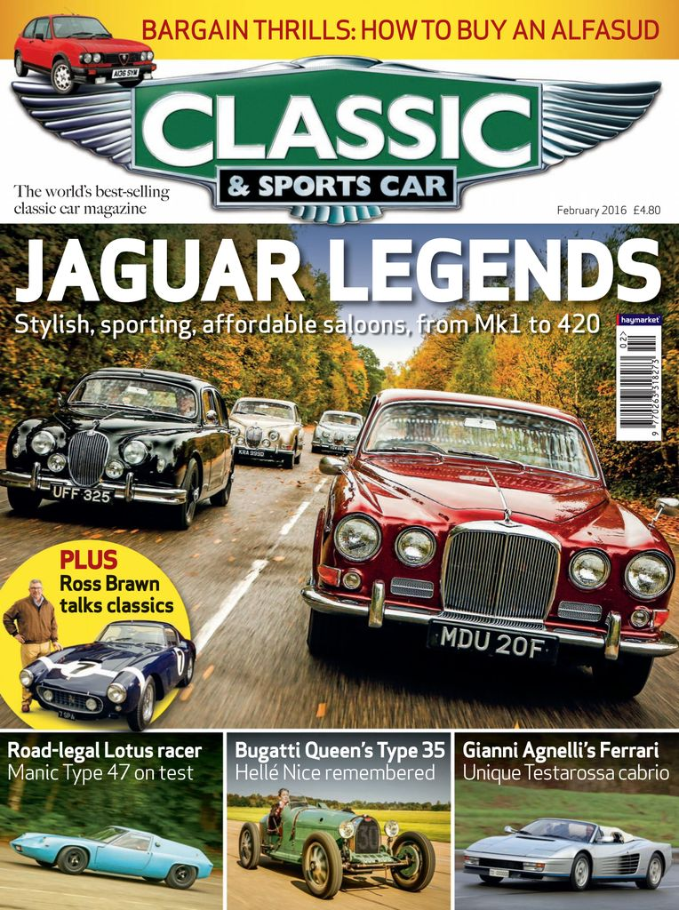 Back Issues Of Classic Sports Car