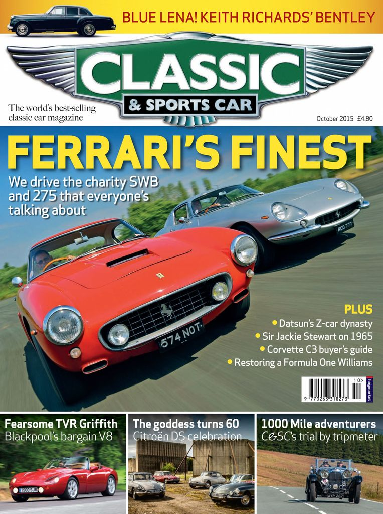 Back Issues Of Classic Sports Car - Classic and sportscar magazine