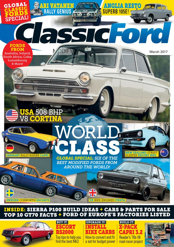 Back issues of Classic Ford