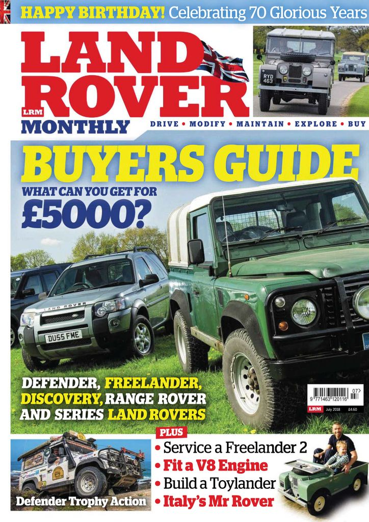 0a8526dc9f Buy Winter Special 2018 - Land Rover Monthly