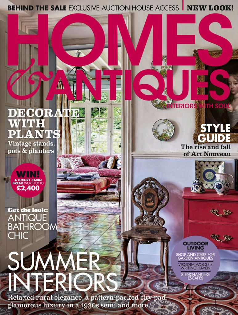 Back issues of Homes & Antiques