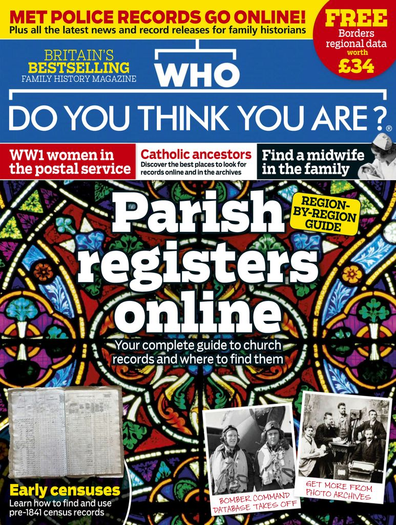 Back issues of Who Do You Think You Are?