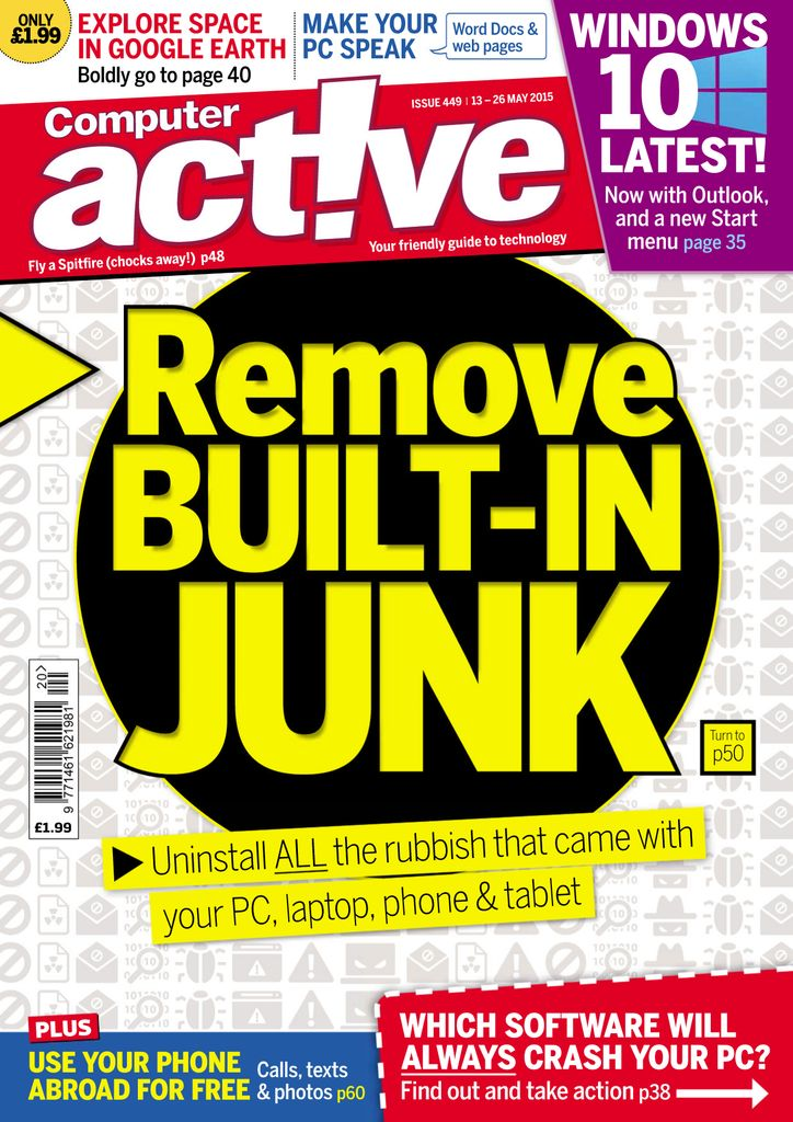Back issues of Computeractive