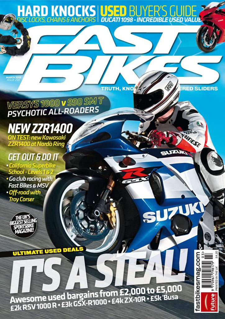 Back issues of Fast Bikes