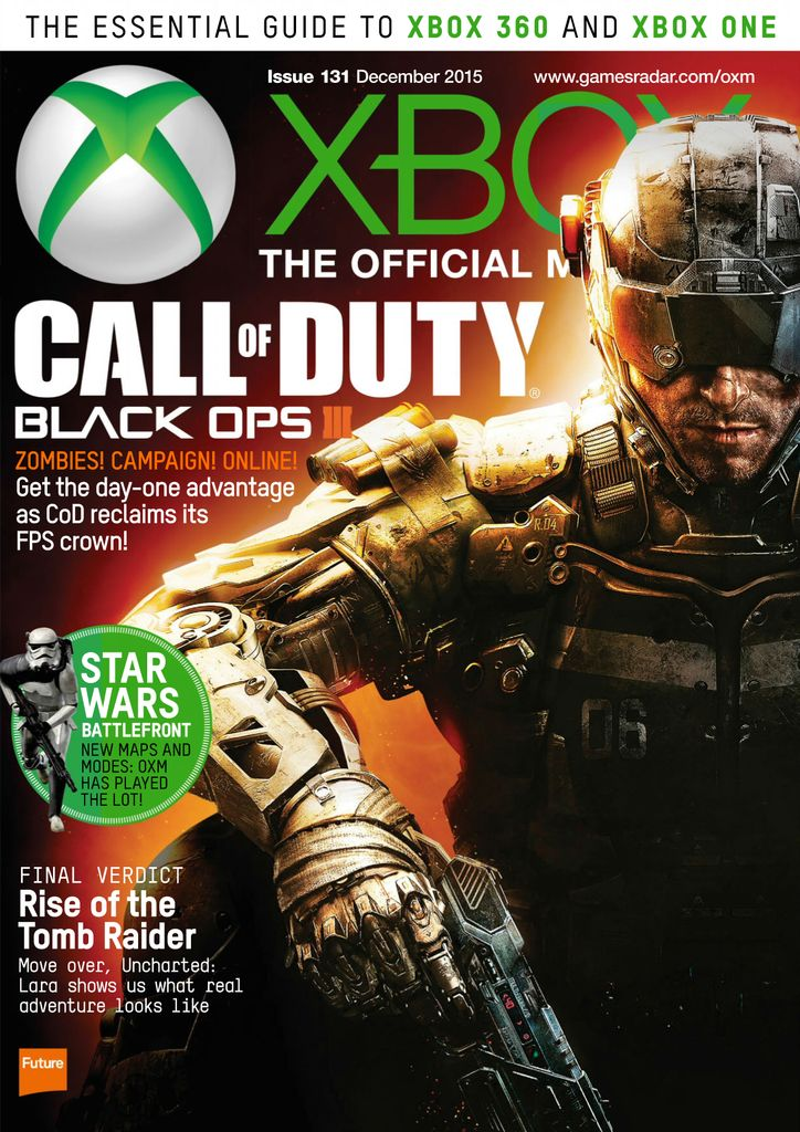 Buy December 2015 - Xbox: The Official Magazine