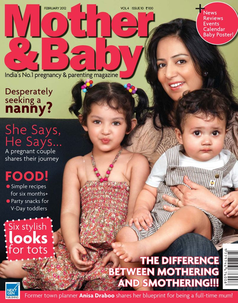 Back issues of Mother & Baby India