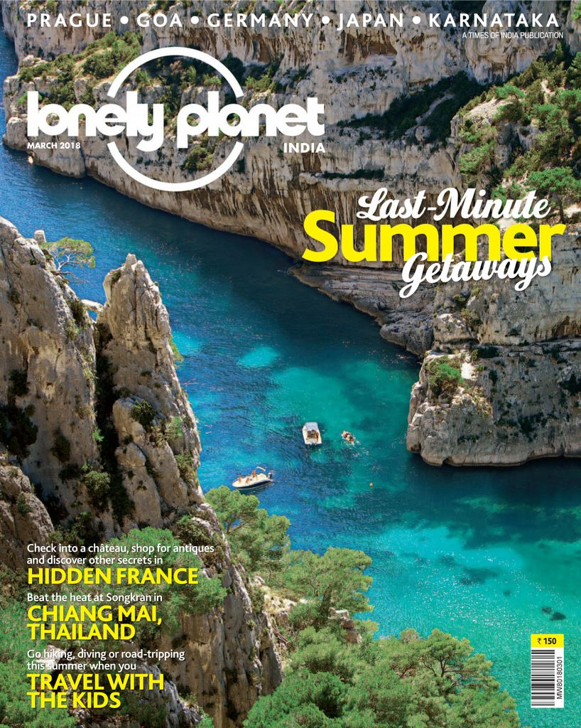 Buy March 2018 Lonely Planet Magazine India