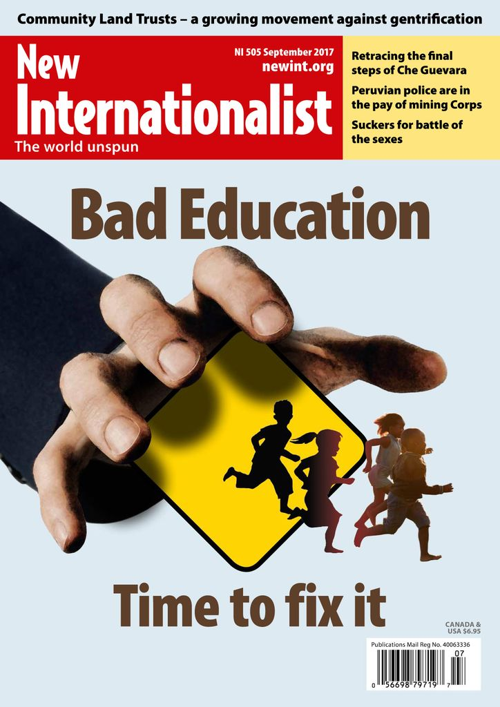 Back issues of New Internationalist
