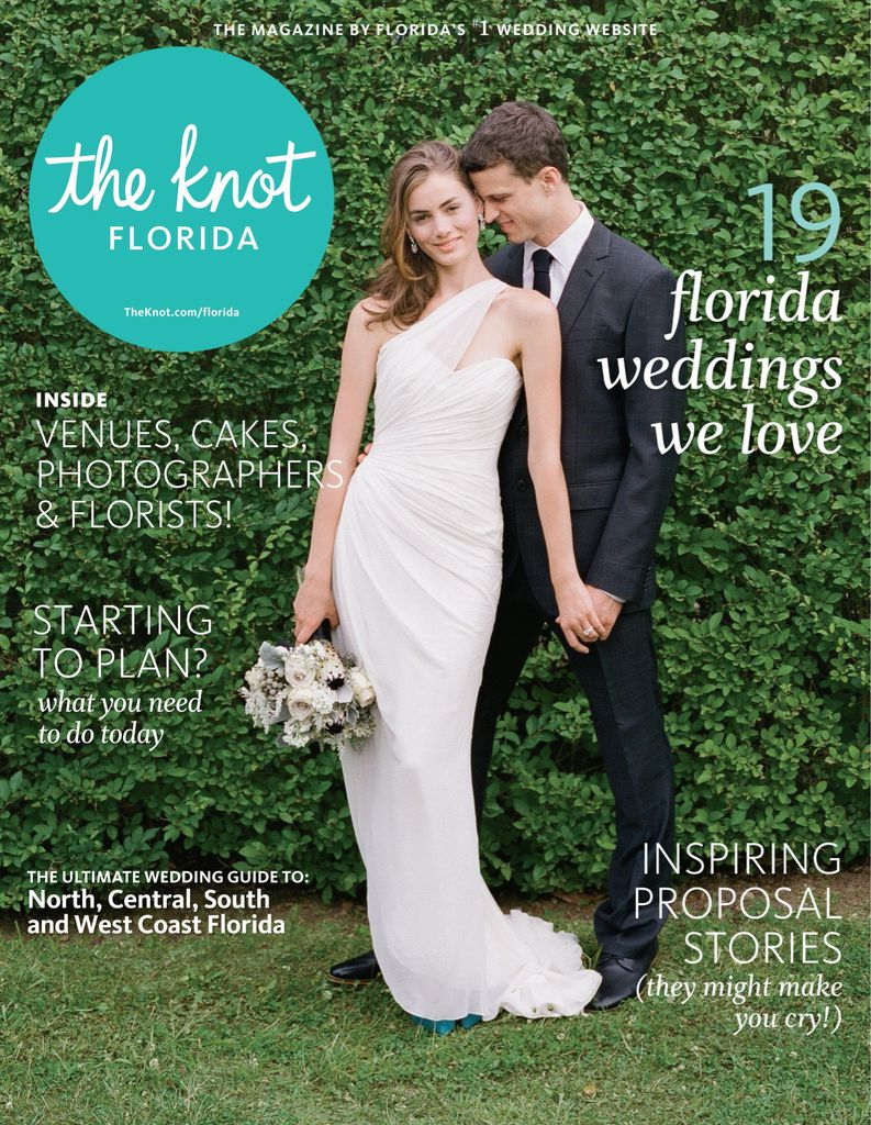 Fall-Winter-13 back issue of The Knot Florida Weddings Magazine ...