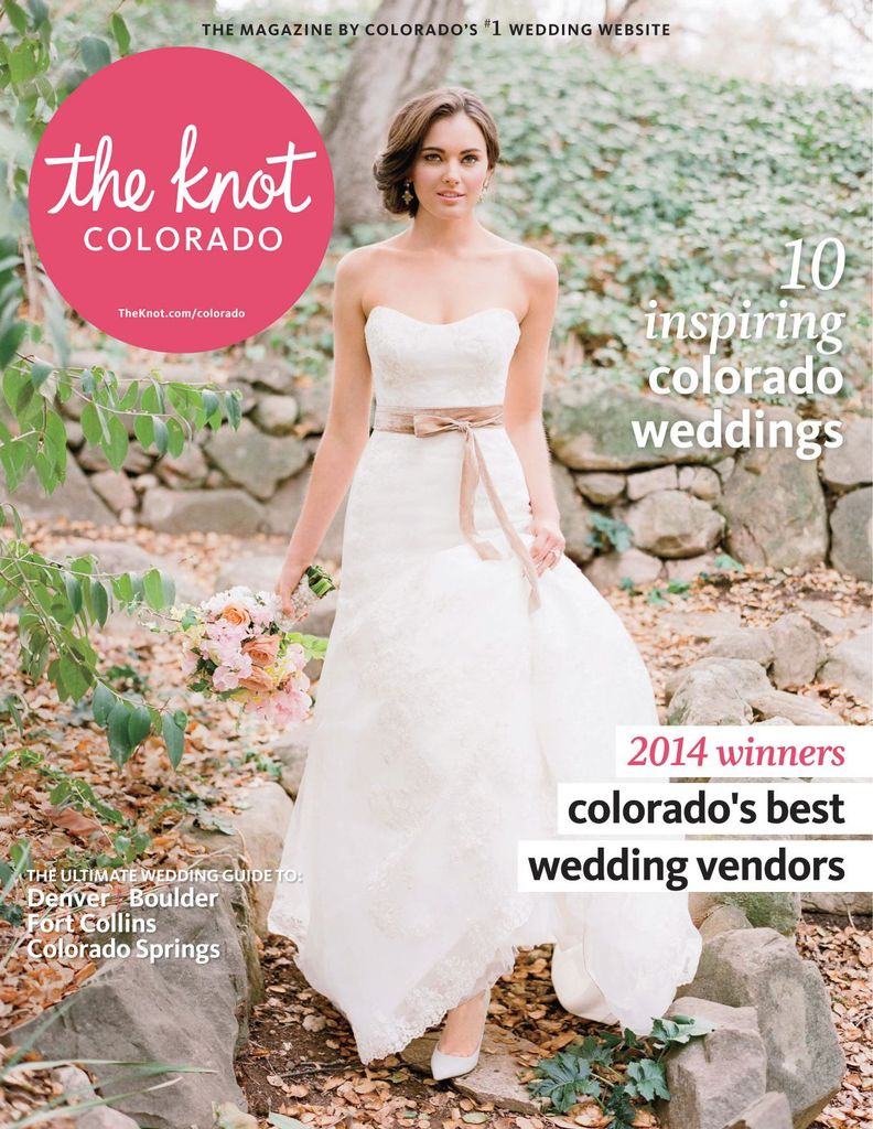 594ad72f4a6d The Knot Colorado Weddings Magazine subscription