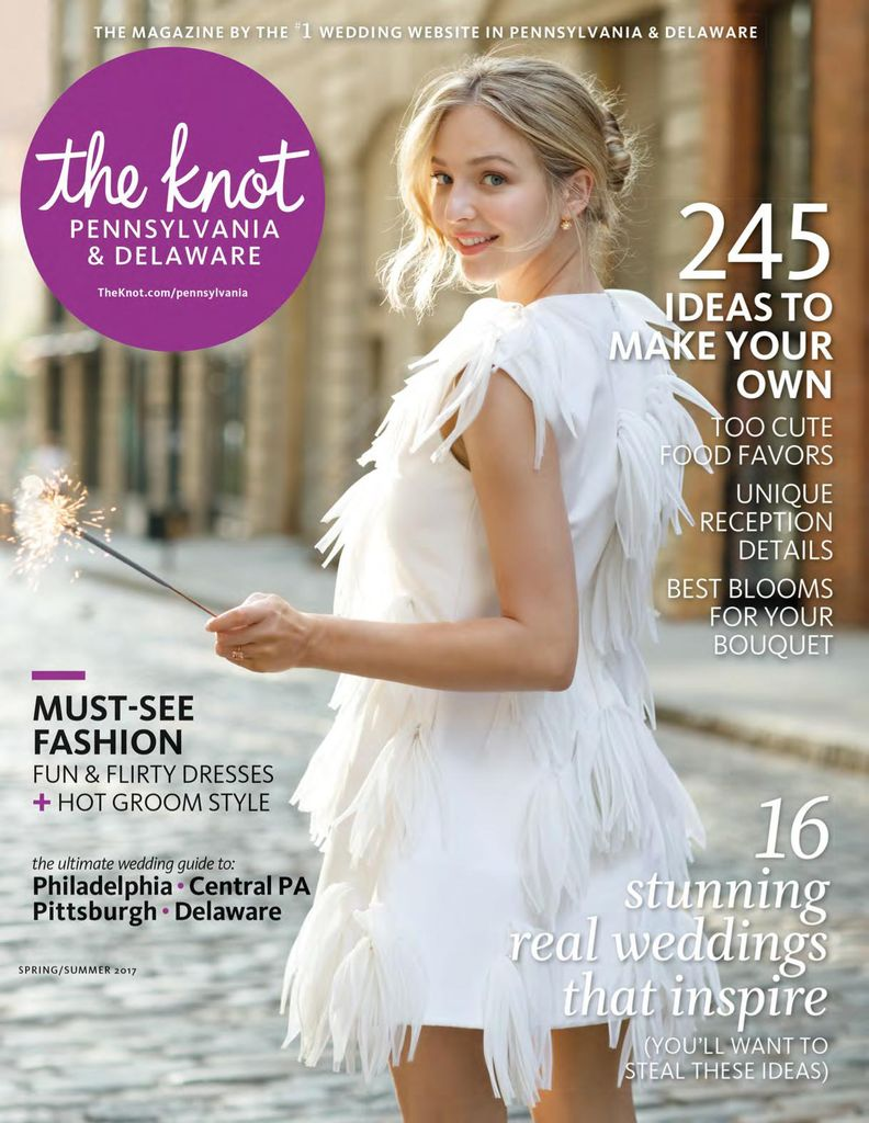 Buy Spring/Summer 2017 - The Knot Pennsylvania Weddings Magazine
