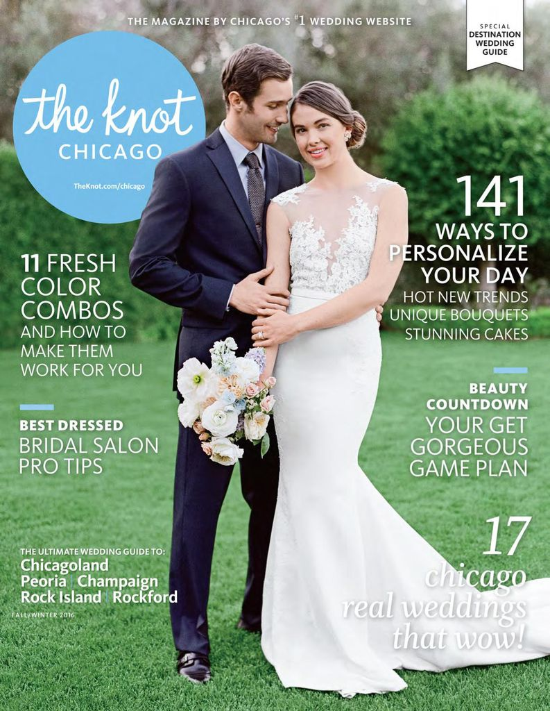 Buy Fall Winter 2017 The Knot Chicago Weddings Magazine