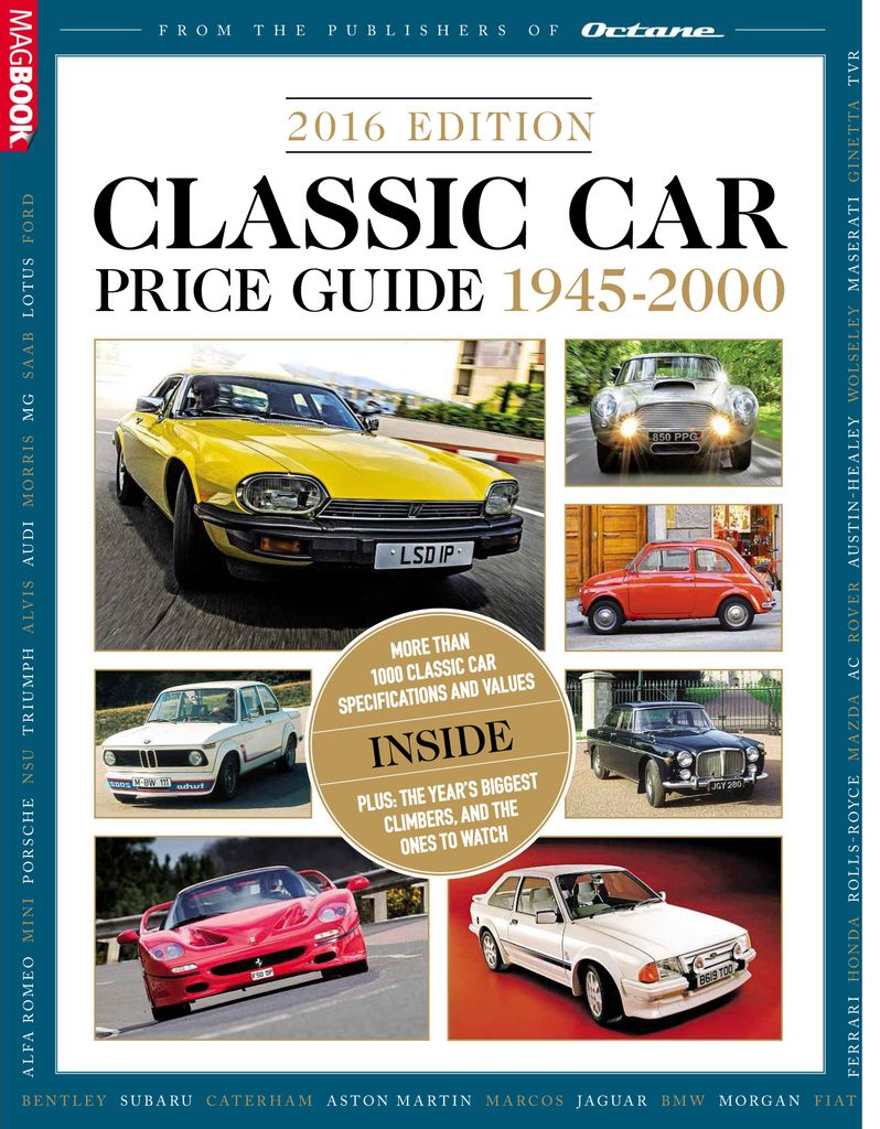 Classic Car Price Guide - Online Magazine