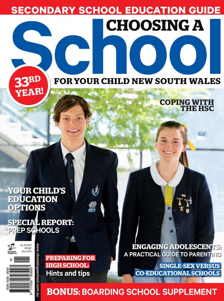 Choosing a School for Your Child NSW subscription