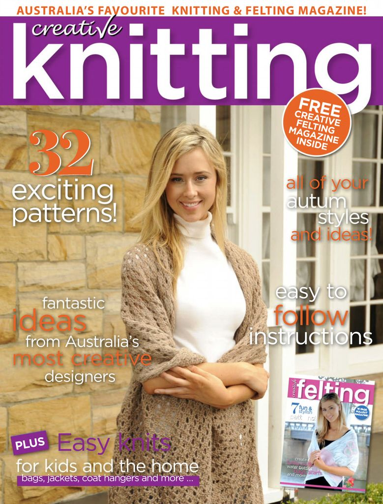 01925ad06 Buy Issue 55 - Creative Knitting