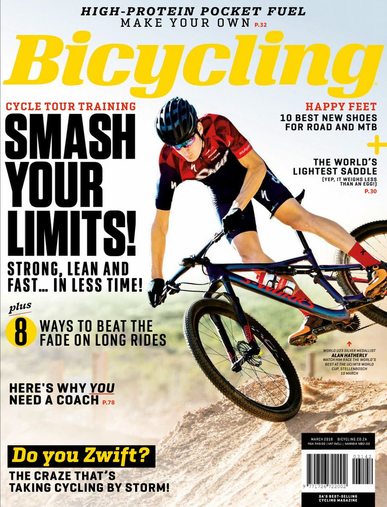 Buy March 2018 - Bicycling South Africa
