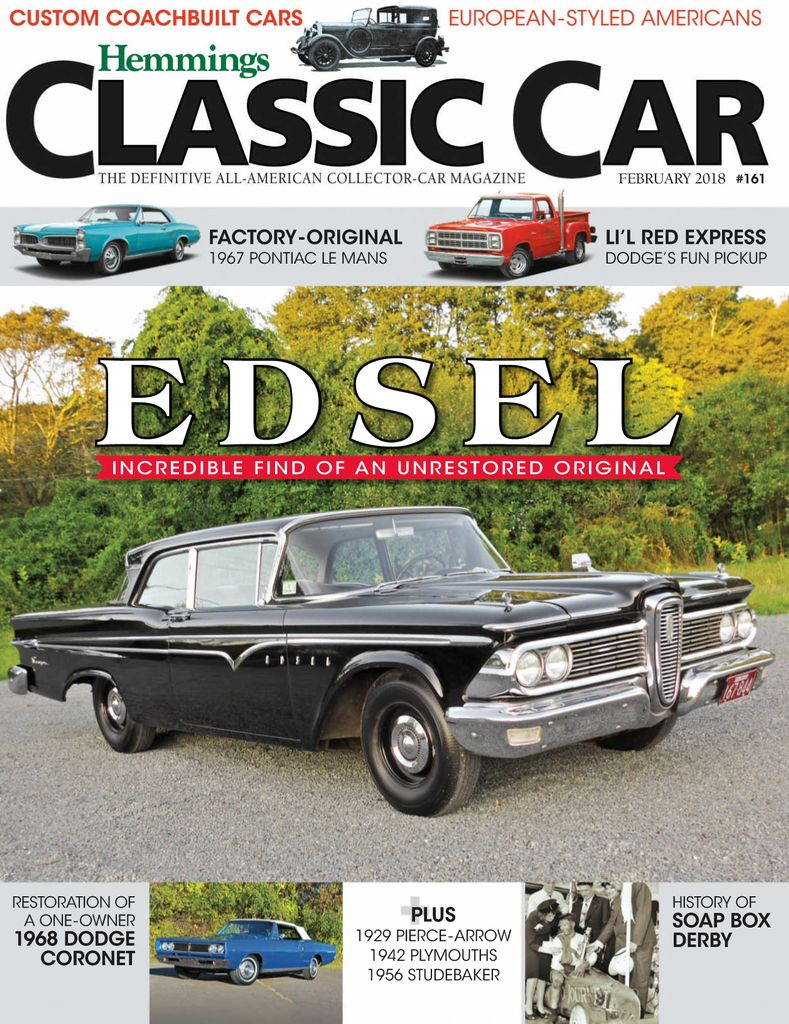 Back issues of Hemmings Classic Car