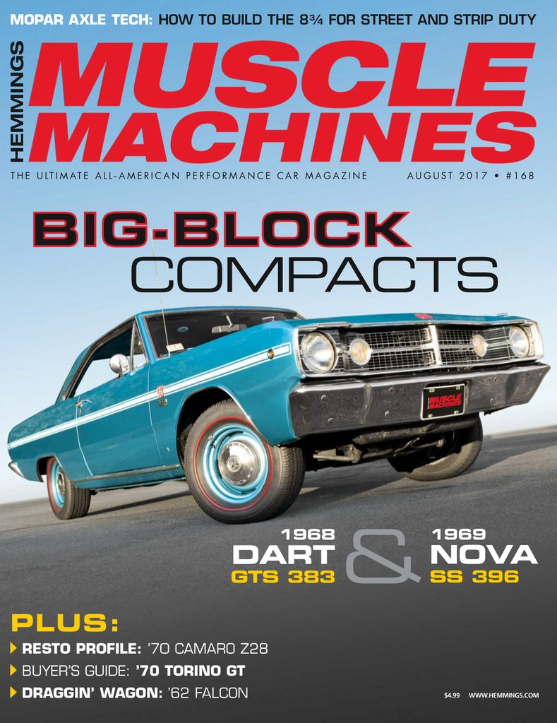 June 2017 back issue of Hemmings Muscle Machines - Zinio.com