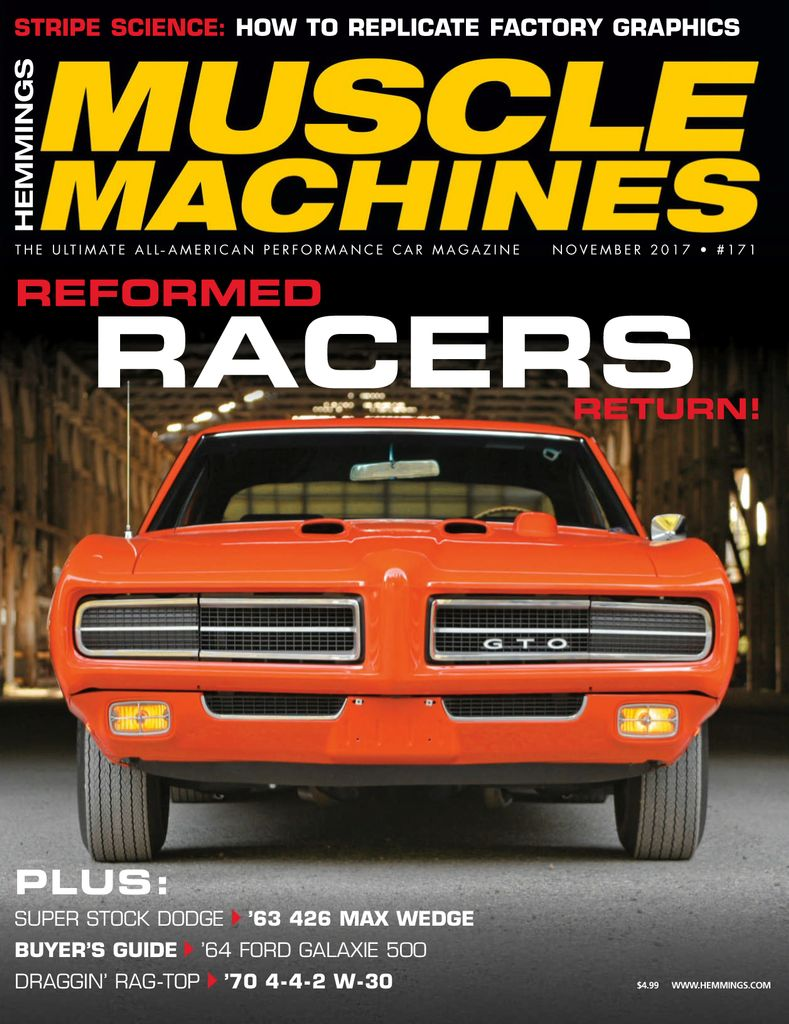 Back Issues Of Hemmings Muscle Machines
